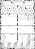MYTHLANDS RPG Suplement - Karty Postaci