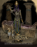Lex Arcana RPG - Aegyptus Paper minis