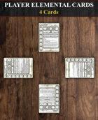 Player Elemental Cards