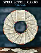 5e Spell Scroll Cards