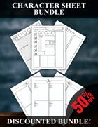 Character Sheet Bundle [BUNDLE]