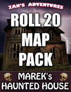 Roll 20 Map Pack for Marek's Haunted House