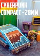 Cyberpunk Compact Car: 3D Printable for 28mm Wargames