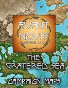 Campaign Map. Cratered Seas