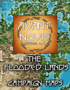 Campaign Map. Flooded Lands