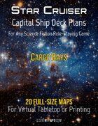 Capital Ship Deck Plans: Cargo Bays
