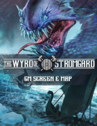 The Wyrd of Stromgard - GM Screen & Map