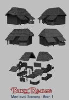 Medieval Scenery - Rural Barn 1