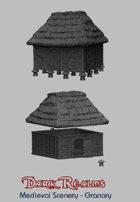 Medieval Scenery - Rural Granary