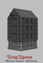 Medieval Scenery - Harbour Warehouse