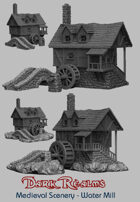 Medieval Scenery - Water Mill