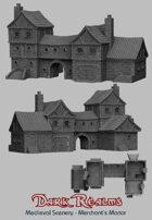 Medieval Scenery - Merchant's Manor