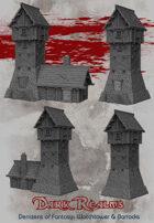 Denizens of Fantasy - Watchtower & Barracks