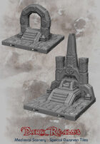 Medieval Scenery - Special Dwarven Dungeon Tiles