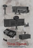 Modern Scenery - Gas Station
