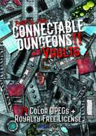 Connectable Dungeons II - VAULTS Digital Maps Package