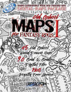 Maps for Fantasy RPGs 1 - Old School