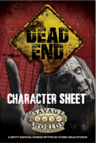 Dead End Custom Character Sheet
