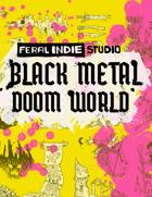 Feral Indie Studio Art Pack - Black Metal Doom World