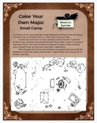 Color Your Own Maps: Small Camp