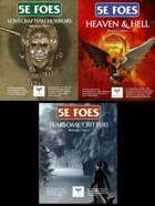 5E Foes: 250 Lovecraftian Horrors, Demons, and Other Critters [BUNDLE]