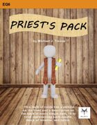 5E Equipment Cards: Priest's Pack
