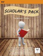 5E Equipment Cards: Scholar's Pack