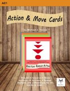 5E RPG: Action and Move Cards