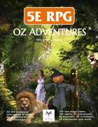 5E RPG: Oz Adventures , from $24.99 to $19.99