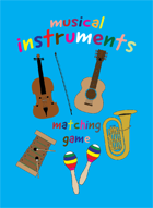 Musical Instruments Card Matching