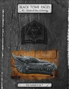 Tomb of the Undying  - Black Tome Pages #1