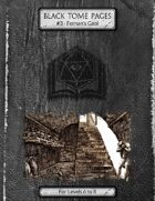 Fornan's Gaol - Black Tome Pages #3