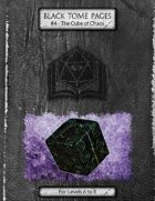 The Cube of Chaos  - Black Tome Pages #4