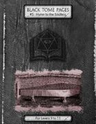 Hymn to the Soulless - Black Tome Pages #5