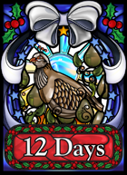 12 Days -- Holiday-themed Family Card Game