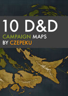 10 Detailed DnD Campaign Maps