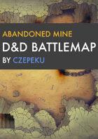 Abandoned Mine DnD Battlemaps