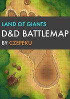 Land of Giants DnD Battlemaps