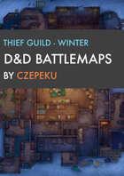 Thieves Guild - Winter Collection - DnD Battlemaps