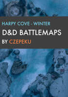 Harpy Cove - Winter Collection - DnD Battlemaps