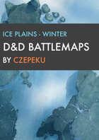 Ice Plains - Winter Collection - DnD Battlemaps
