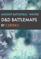 Ancient Battlefield - Winter Collection - DnD Battlemaps