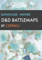 Bathhouse - Winter Collection - DnD Battlemaps