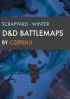 Scrapyard - Winter Collection - DnD Battlemaps