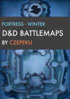 Fortress - Winter Collection - DnD Battlemaps