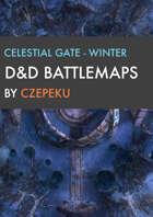 Celestial Gate - Winter Collection - DnD Battlemaps