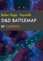 Baba Yagas Domain (Feywild) - Fey Collection - DnD Battlemap