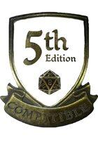 5th Edition (5e) Compatible Logo