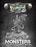 Eldritch Century - Monsters STL bundle