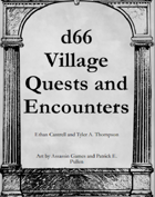 d66 Village Quests and Encounters